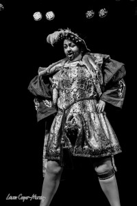 Rusty Von Chrome is a perfect example of a burlesque performer with a 'USP'! Taken at The Slippery Belle - Leeds. Photo courtesy of the amazing Laurie Cooper-Murray 2015.